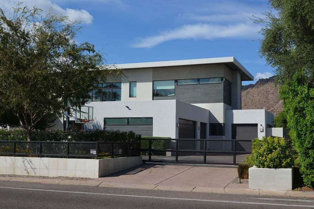 Arcadia AZ Modern Home Two Story